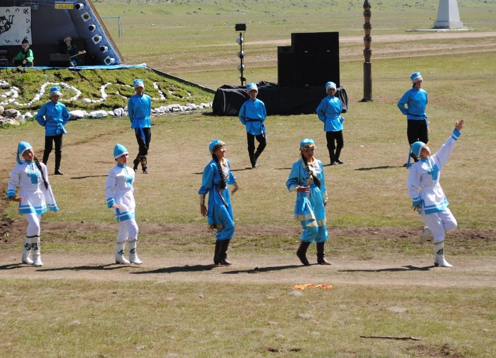 Altai dancers